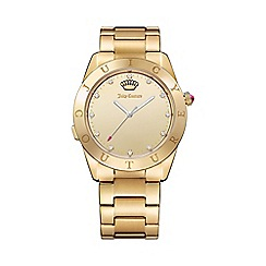 Juicy Couture - Ladies gold plated bracelet smart watch