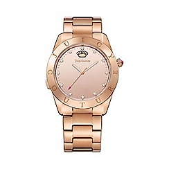 Juicy Couture - Ladies rose gold plated bracelet smart watch