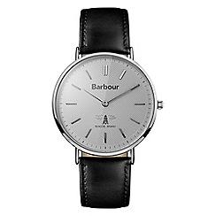 Barbour - Gents black quartz strap watch