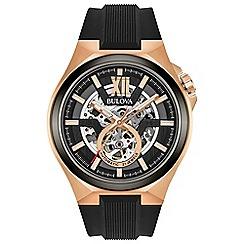 Bulova - Men's automatic strap watch