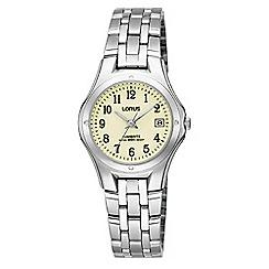 Lorus - Women's lumibrite bracelet watch