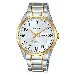 Pulsar - Gents TT silver dial bracelet watch
