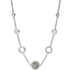 Fossil - Ladies silver glitz necklace