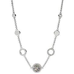 Fossil - Ladies silver glitz necklace