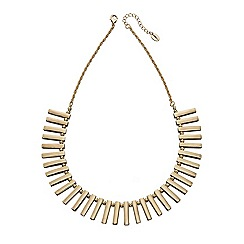 Fiorelli - Gold multi bar collar necklace