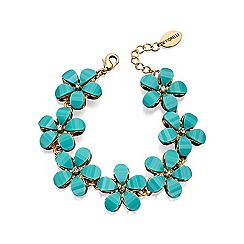 Fiorelli - Blue stone flower bracelet