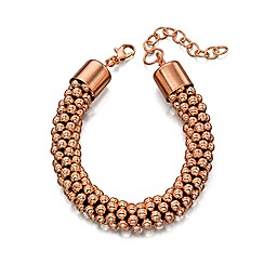 Fiorelli - Rose gold plate chunky bead bracelet