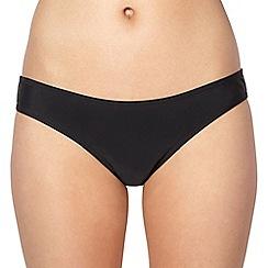 Beach Collection - Black essential bikini bottoms