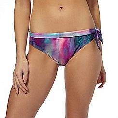 Mantaray - Multi digital print bikini briefs