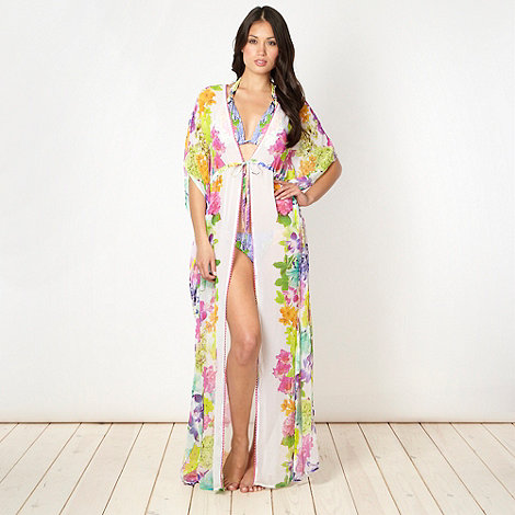 Butterfly by Matthew Williamson - Designer floral maxi kaftan