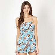 Blue ladybird playsuit