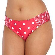 Red spotted bikini bottoms