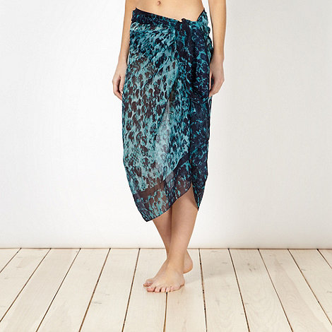 Beach Collection - Blue snake sarong