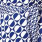 Principles by Ben de Lisi - Designer blue spotted circle sun dress Alternative 2