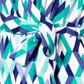 Principles by Ben de Lisi - Designer blue diamond print wrap dress Alternative 2