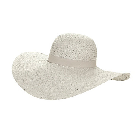 J by Jasper Conran - Designer grey woven hat