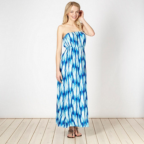 Butterfly by Matthew Williamson - Blue haze jersey maxi dress