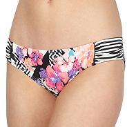 Pink aztec print bikini pants