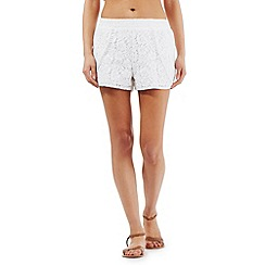 Floozie by Frost French - White lace shorts