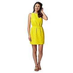 Floozie by Frost French - Yellow crochet beach dress
