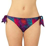 Purple bunny tie side bikini bottoms