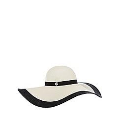 Principles by Ben de Lisi - Designer ivory floppy brim hat