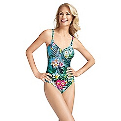 Amoena - Tropical print mastectomy swimsuit