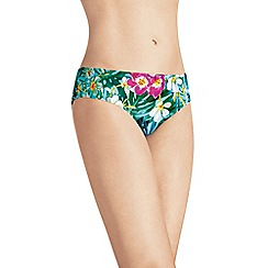 Amoena - Tropical print bikini briefs