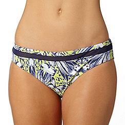 Gorgeous DD+ - Lime butterfly bikini bottoms