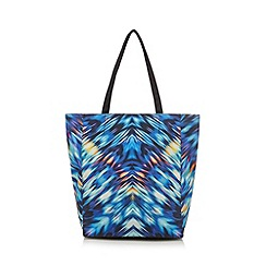 Butterfly by Matthew Williamson - Designer blue shopper bag