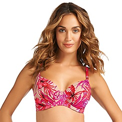 Fantasie - Orange UW gathered full cup bikini top