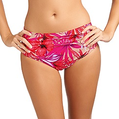 Fantasie - Orange deep gathered brief