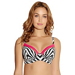 Fantasie - Cream UW gathered full cup bikini top