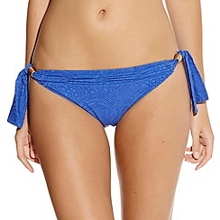 Fantasie - Lombok mid rise brief with scarf tieside