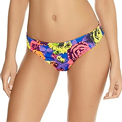 Freya - Floral Pop classic brief