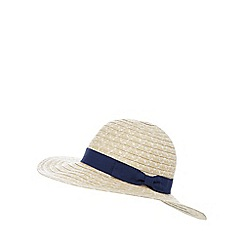 Beach Collection - Natural spotted bow band hat