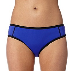 Red Herring - Mauve scuba bikini bottoms