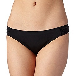 Ultimate Beach - Black plain bikini bottoms