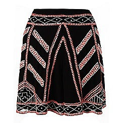 Lipsy - Tribal embellished shorts