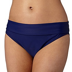 Beach Collection - Navy fold mix and match bikini bottoms