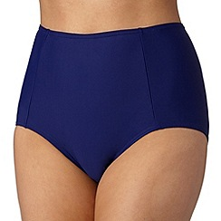 Beach Collection - Navy plain mix and match bikini bottoms