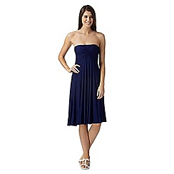 Beach Collection - Navy multiway mix and match bandeau skirt dress
