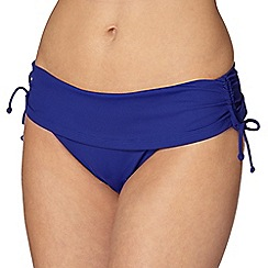 Gorgeous DD+ - Dark blue folded bikini bottoms