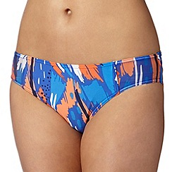 Principles by Ben de Lisi - Designer blue painted splash bikini bottoms