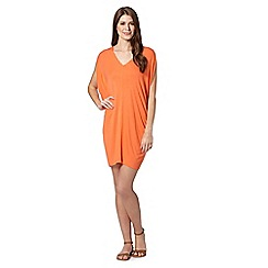 Principles by Ben de Lisi - Designer orange plain jersey kaftan
