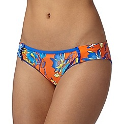 Floozie by Frost French - Orange dragonfly bikini bottoms