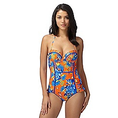 Floozie by Frost French - Orange dragonfly underwired swimsuit