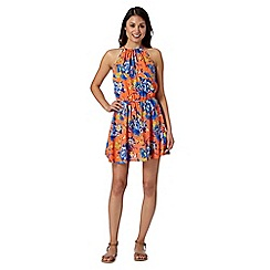 Floozie by Frost French - Orange dragonfly beach dress