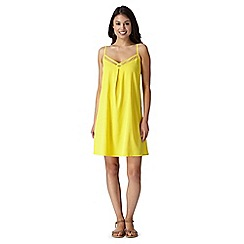 Floozie by Frost French - Yellow mesh dress