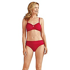 Amoena - Red 'Haiti' post-surgery bikini top